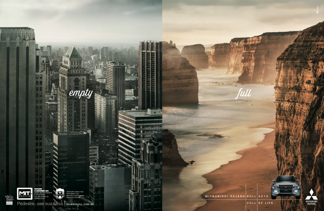 Photography work for Mitsubishi Pajero ad campaign in Brazil made by Africa Agency.