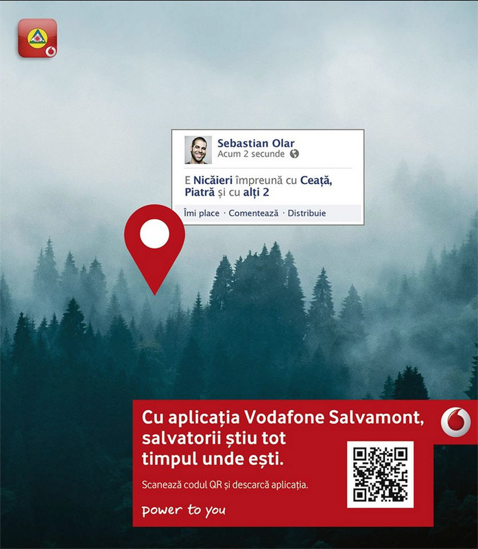 Photography work for Vodafone ad campaign in Romania, made by McCann Erickson Bucharest, Romania.
